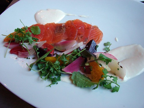 house-cured salmon