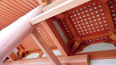 Ceiling of Chū-mon