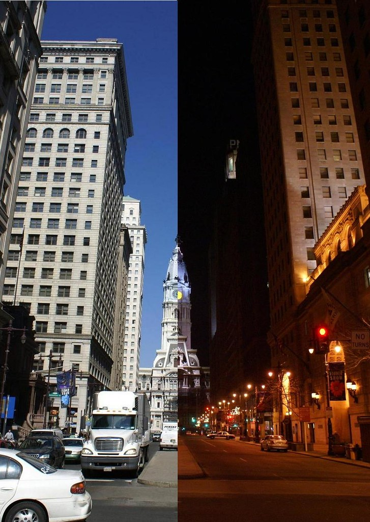 Philly day for night