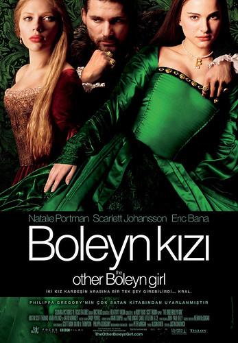 Boleyn Kızı filmi türkçe afişi