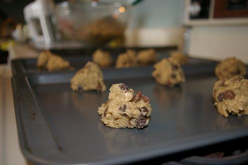Preparing to bake
