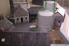 Scale model at Dunedin Gasworks museum