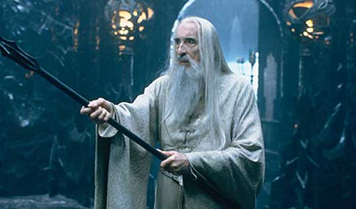 Christopher Lee- Saruman. por ti.