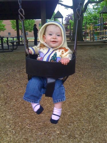 Rebecca in swing