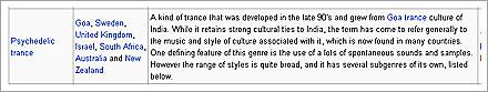 psychedelic trance genre definition
