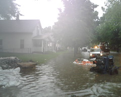 Cedar Rapids Iowa Sandbagging