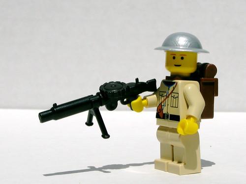 BrickArms Lewis gun on Flickr