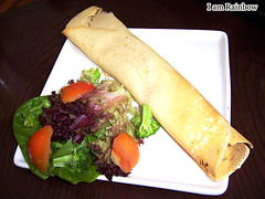 Theobroma Chocolate Lounge - Salmon Crepe