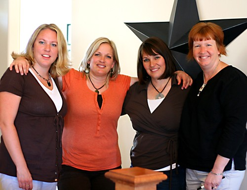 Founding Paper Crafts Pros: Wendy Johnson, Sue Neal, Alisa Bangerter and Kim Kesti.