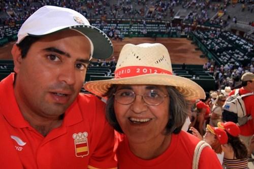 Nacho y María en la Davis
