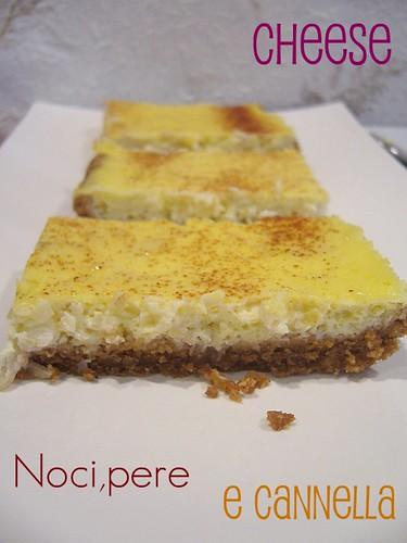 Cheese,noci,pere alla cannella
