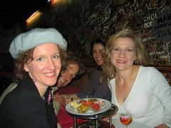 Dinner at Le Refuge Des Fondues in Paris