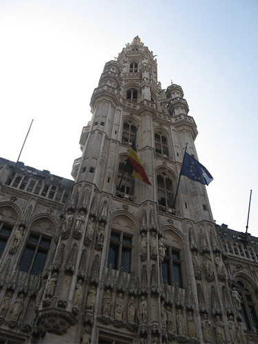 One of the buildings in Grand Place