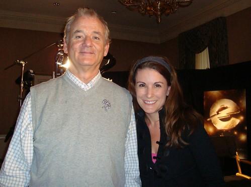 Bill Murray and Marianne Mancusi
