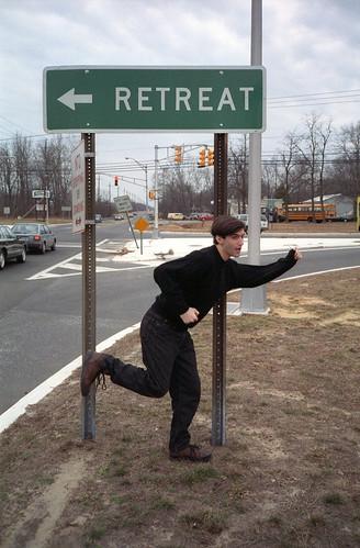 Retreat! by Joe Shlabotnik, on Flickr