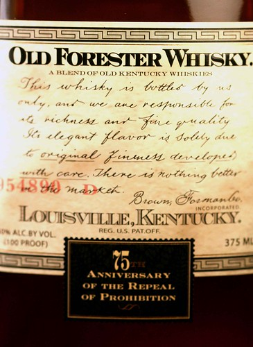 Old Forester Repeal Bourbon