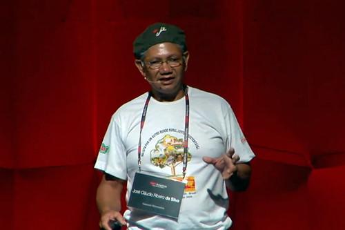 José Cláudio Ribeiro da Silva speaking at TEDx Amazon in 2010