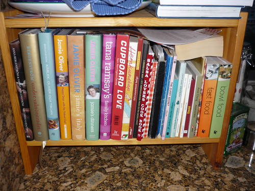 Some of my many recipe books