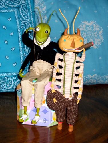 Mr.Grasshopper & Mr.Centipede