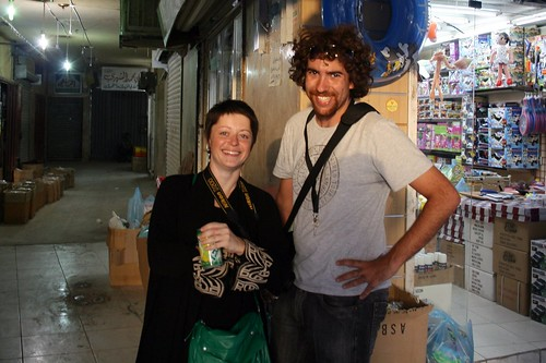Vilma y Carlos de fotógrafos en Riad