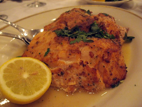 Salmon with Lemon and Herbs