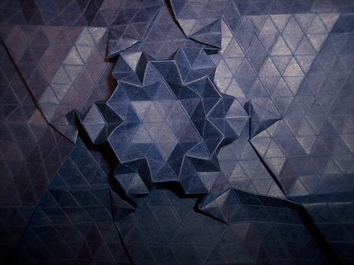 Framed Star Tessellation 9 by you.
