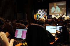 Asistentes twitteando sobre el evento | © OCD - U. Mayor