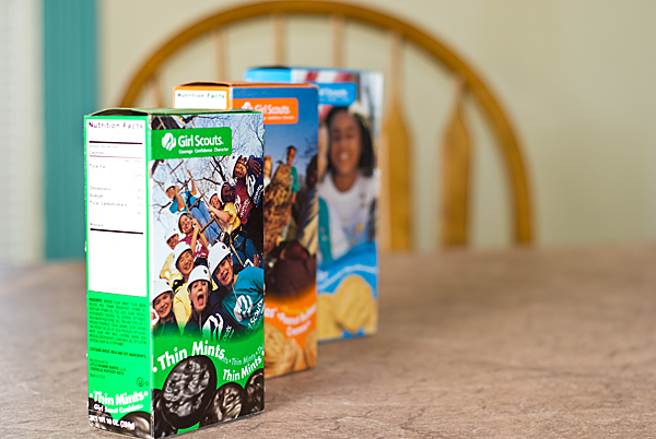 girlscout cookies