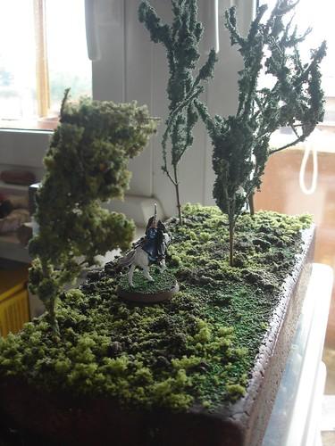 Diorama Bosco Arwen e Frodo