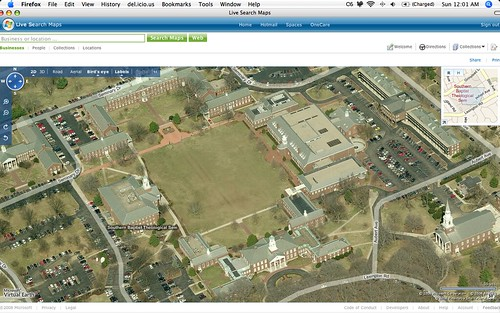 SBTS-Bird's Eye View by Microsoft LiveMaps