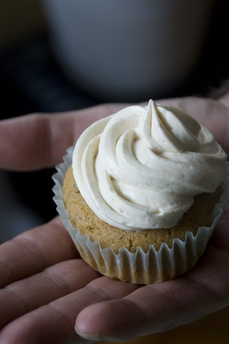Cashew Cardamom Cupcakes
