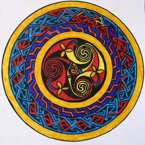 Celtic Mandala, Minneapolis, Minnesota, May 2008, photo © 2008 by QuoinMonkey. All rights reserved.