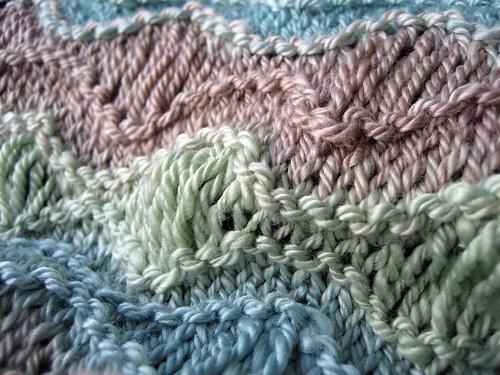 scarf closeup