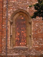 Fiery window