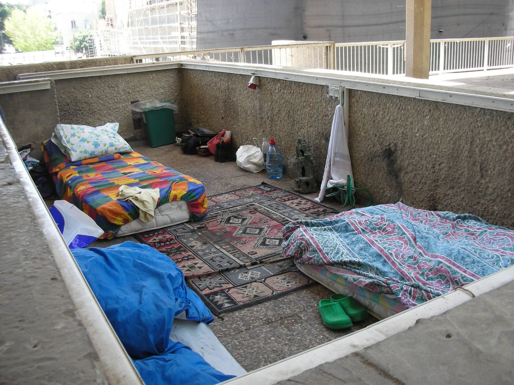 Homeless Public Space