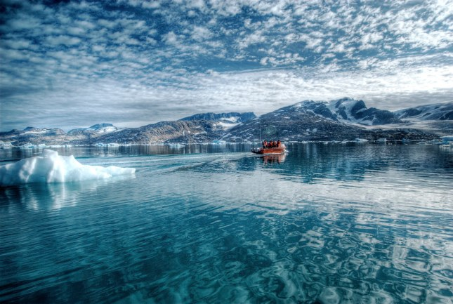 Reflections on the Arctic Sea par wili hybrid