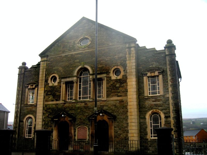 Tadcu ministered in three pastorates, Pontardawe and Gwaun Cae Gurwen from 1957-1968; Llanelli (1968-1981); and above is Bethany Church Ammanford (1981-1994).