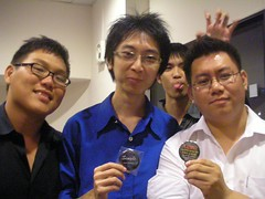 Wei Loong, Nigel and Jev
