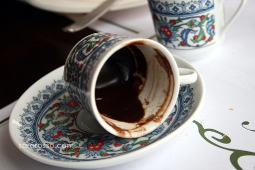 Turkish Coffee Grounds from Istanbul, Turkey