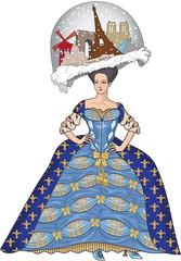 Marie Antoinette Paper Doll