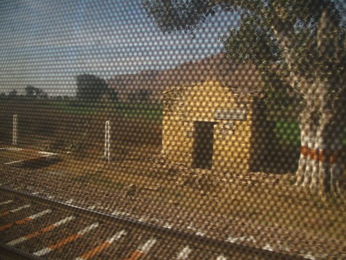 A view from the The Rajdhani Express