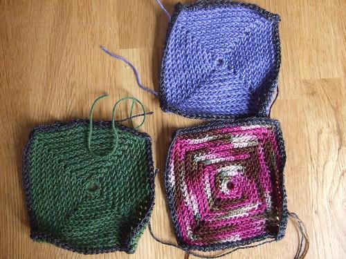 sock squares border