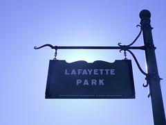 Bienvenue au Lafayette Park !
