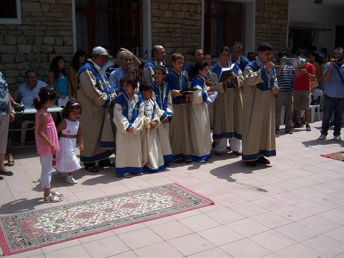 The church choir in Vakiflikoy