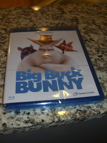 Big Buck Bunny Blu-ray Version Front