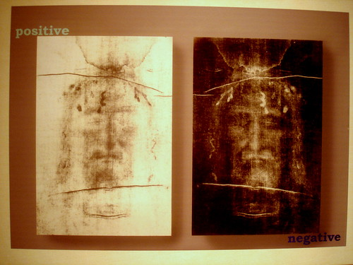 Shroud of Turin weirdness