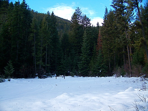 Spring Creek trail head