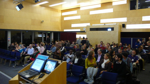 The audience at Ben Schneiderman's talk