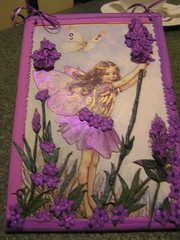 Lavender fairy for baby Summer