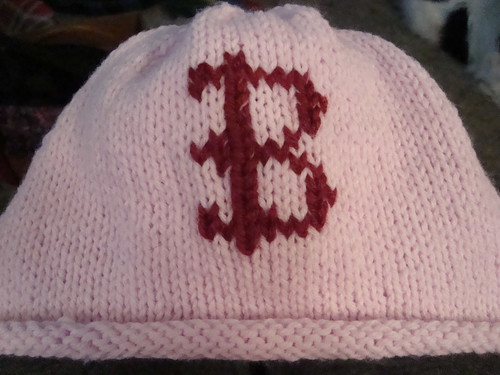 * Cute chemo cap, I love the roll brim.